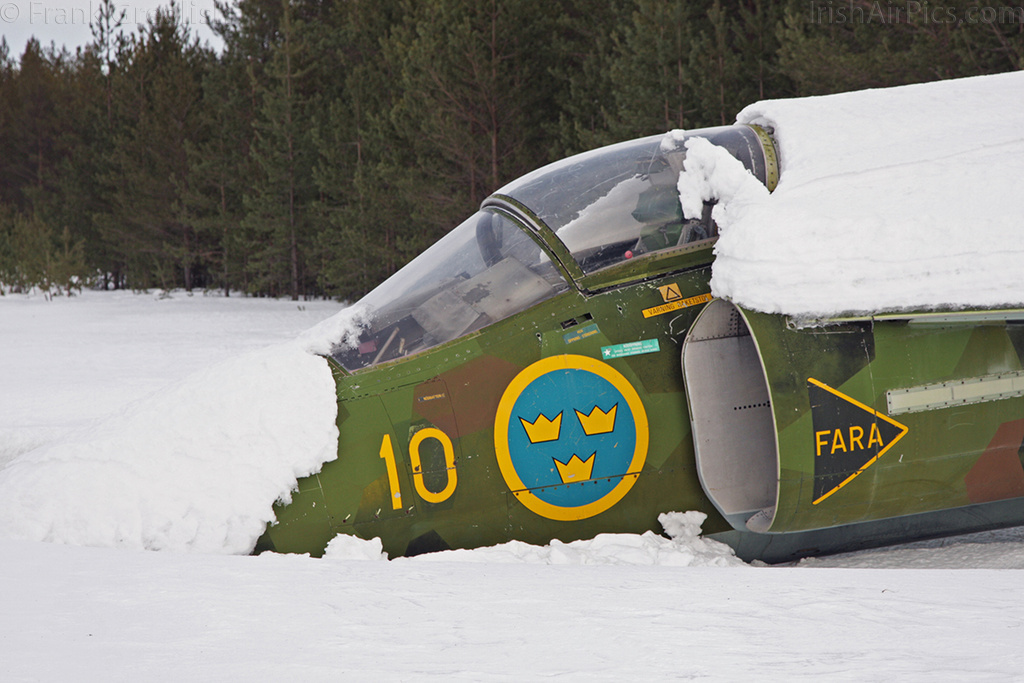 Saab AJS37 Viggen 37041 at Lulea