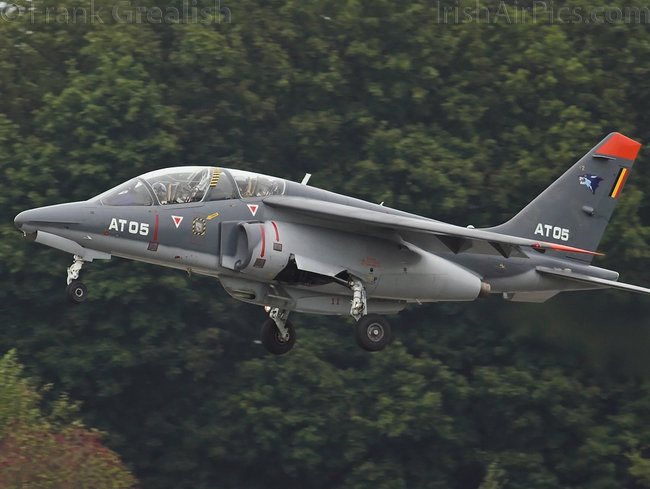 Dassault-Dornier Alpha Jet, AT05, Belgian Air Force