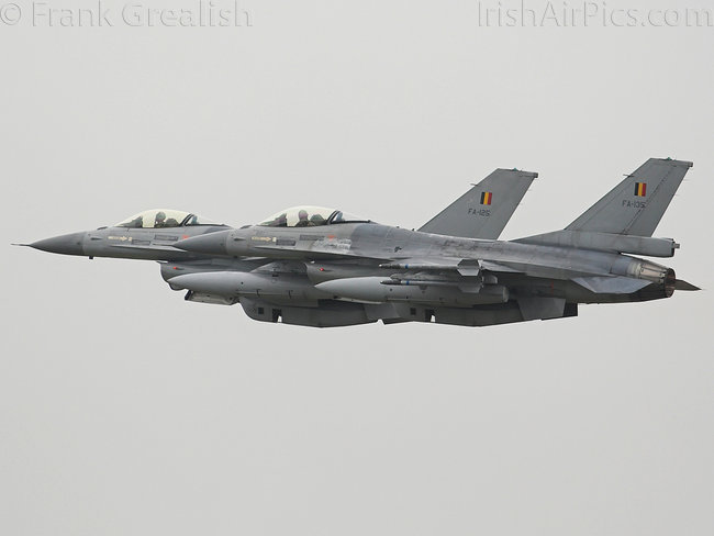 Lockheed Martin F-16AM Fighting Falcon, FA-135, Belgian Air Force