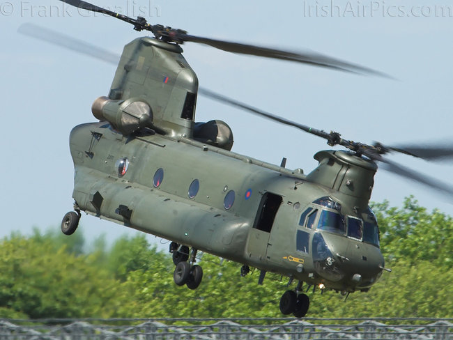 Boeing Chinook HC2, ZA710, Royal Air Force