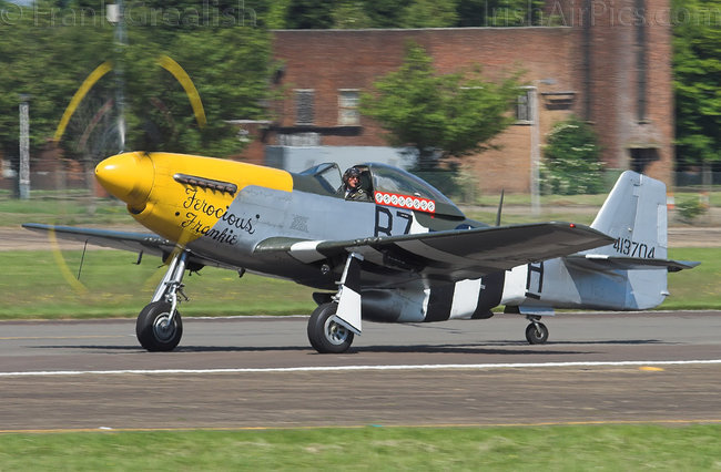 North American P-51D Mustang, G-BTCD, Old Flying Machine Company
