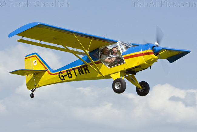 Denney Kitfox Mk3, G-BTNR, John Beirne-High Notions Flying Group