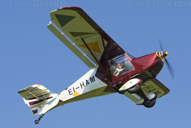 Light Aero Avid Flyer, EI-HAM, John Duggan