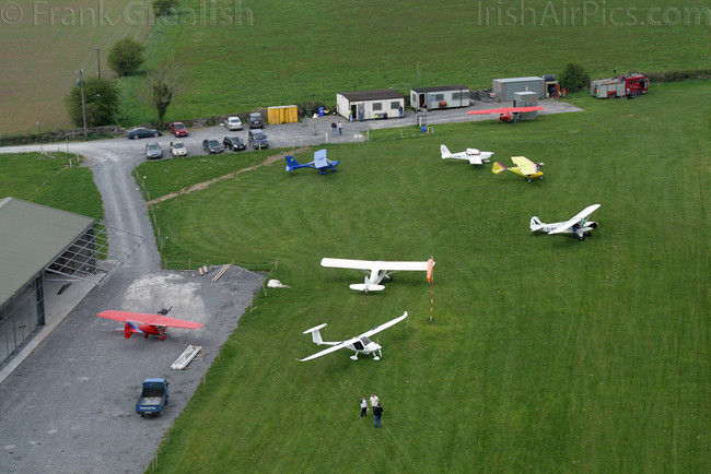 Aerial view of Birr Airfield