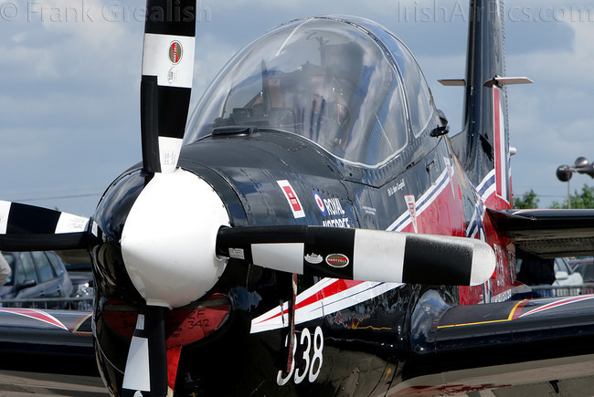 Shorts Tucano T1, ZF338, Royal air Force