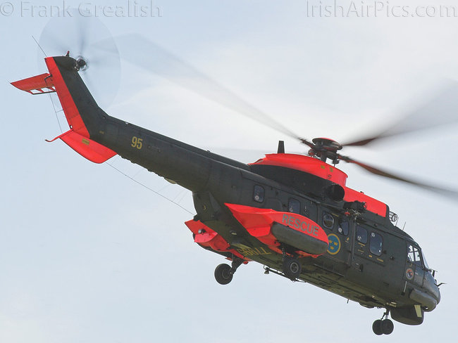 Aerospatiale Hkp10 Super Puma AS-332M1, 77995, Swedish Air Force