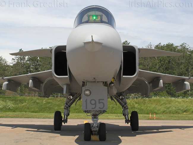 Saab JAS39A Gripen, 39195, Swedish Air Force