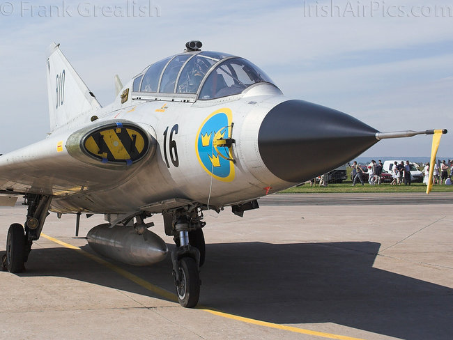 Saab SK35C Draken, 35810, Swedish Air Force