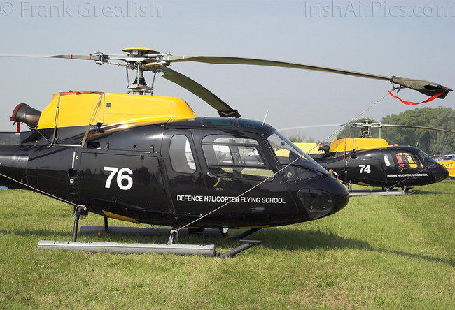 Aerospatiale Squirrel HT1 AS-350BB, ZJ276, Royal Air Force