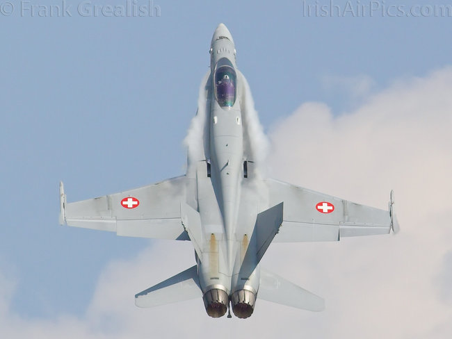 Boeing FA-18C Hornet, J-5020, Swiss Air Force