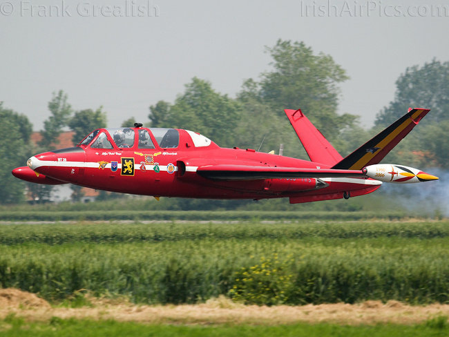Fouga CM-170 Magister, MT26, Belgian Air Force