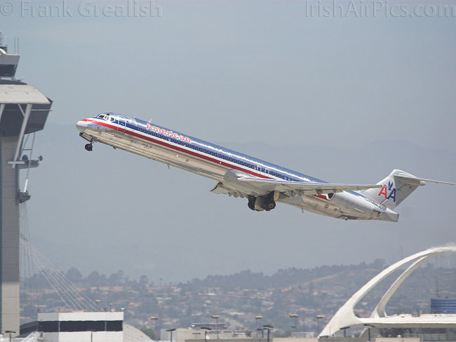 McDonnell Douglas MD-82 DC-9-82, N73444, American Airlines