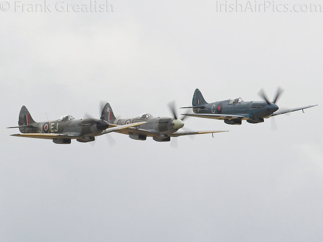 Supermarine Spitfire FRXIVE, G-SPIT, The Fighter Collection