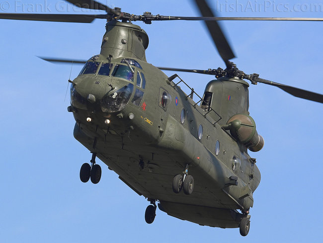Boeing Chinook HC2, ZA680, Royal Air Force