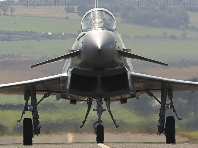 Eurofighter Typhoon F2, ZJ911, Royal Air Force