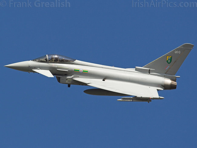 Eurofighter Typhoon F2, ZJ917, Royal Air Force