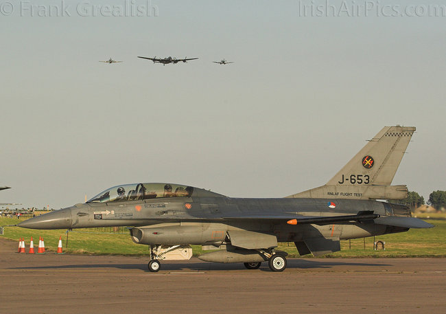 Lockheed Martin F-16BM Fighting Falcon, J-653, Royal Netherlands Air Force