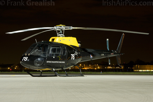 Eurocopter AS-350BB Squirrel HT1, ZJ278, Royal Air Force