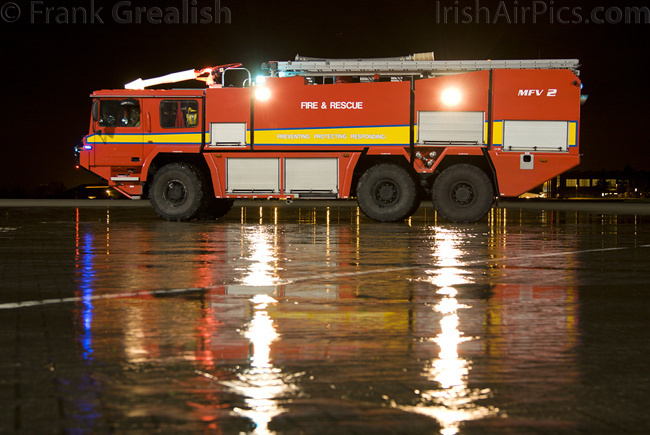 RAF Northolt Fire Engine