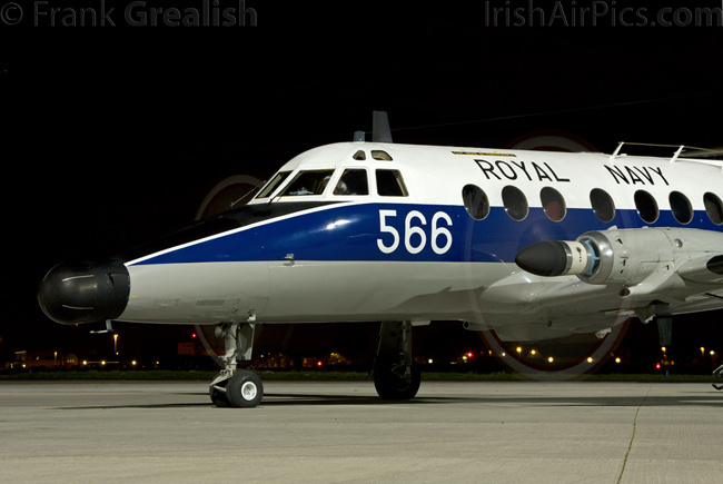 Scottish Aviation Jetstream T2, XX484, Royal Navy