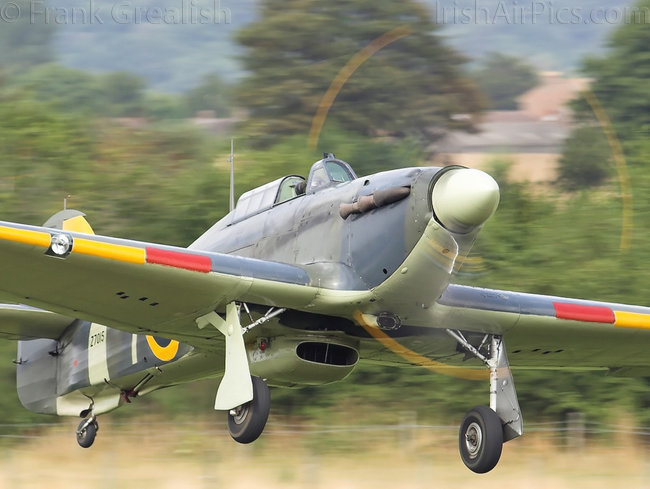 Hawker Sea Hurricane IB, G-BKTH, The Shuttleworth Collection