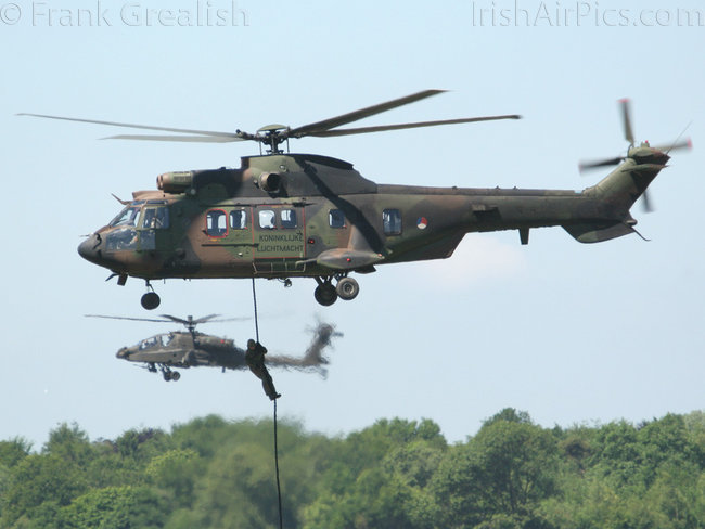 Aerospatiale AS532U2 Cougar 2, S-457, Royal Netherlands Air Force