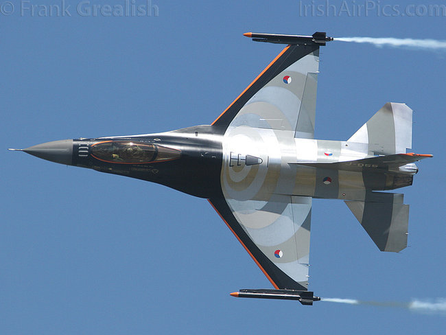 Lockheed Martin F-16AM Fighting Falcon, J-055, Royal Netherlands Air Force