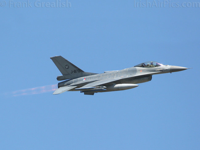 Lockheed Martin F-16AM Fighting Falcon, J-870, Royal Netherlands Air Force