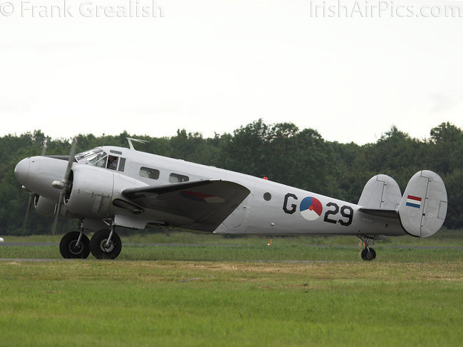 Beech D18S-3NM, PH-KHV, Royal Netherlands Air Force Historic Flight