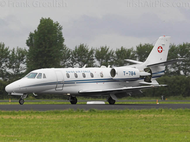 Cessna 560XL Citation Excel, T-784, Swiss Air Force