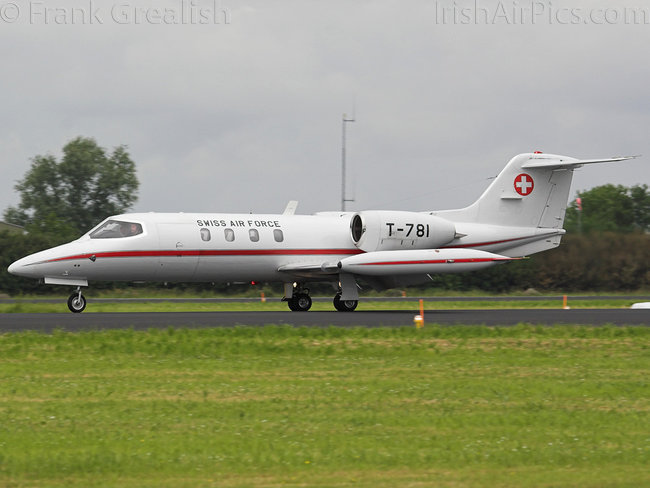 Learjet 35A, T-781, Swiss Air Force