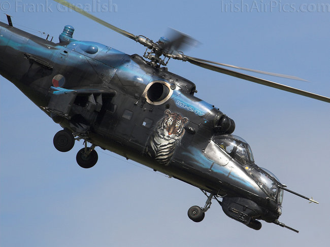 Mil Mi-24V Hind E, 7353, Czech Air Force