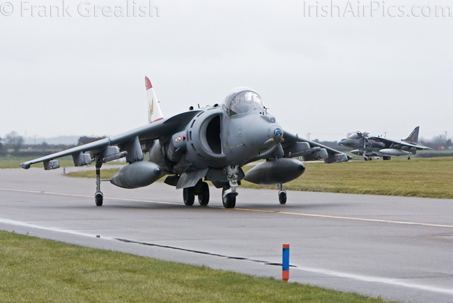 RAF Cottesmore - Harrier GR9 ZG477with a 1F Squadron special tail