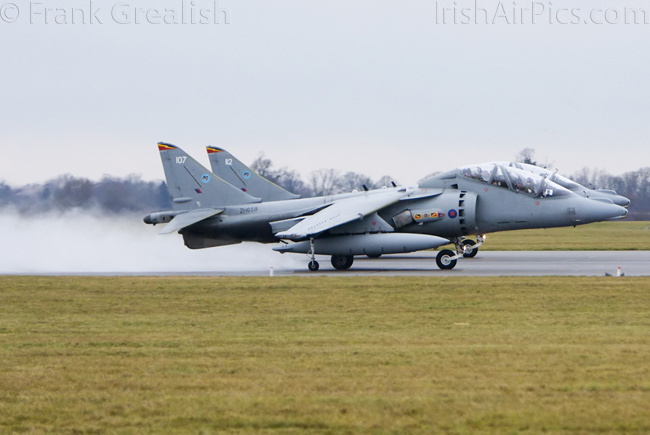 RAF Cottesmore - Harrier T12 ZH659