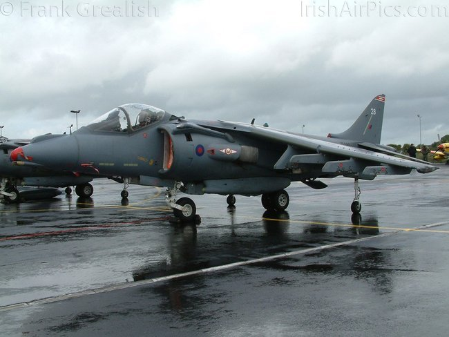 British Aerospace BAe Harrier GR7, ZD380, Royal Air Force