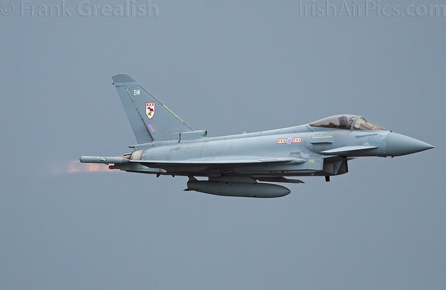 Eurofighter Typhoon F2, ZJ921, Royal Air Force