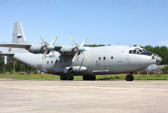 Antonov An-12BK, RA-11803, Russian Air Force