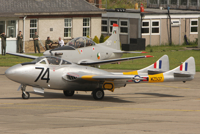 De Havilland Vampire T11, G-VTII, Vampire Preservation Group