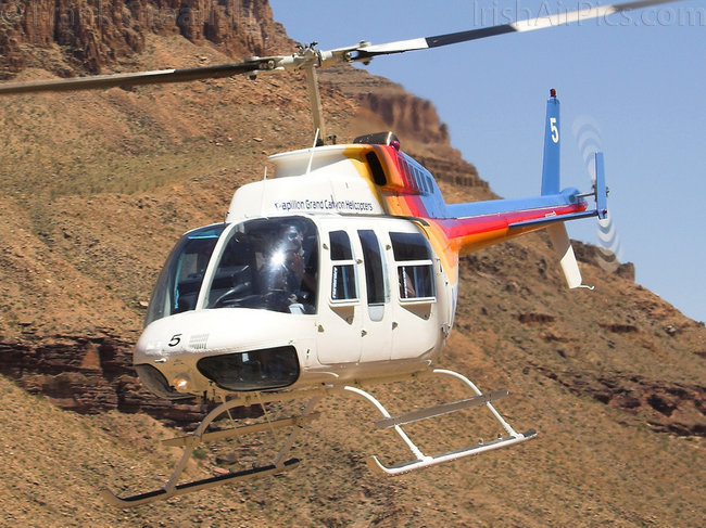 Bell 206L-1 Long Ranger III, N2070U, Papillon Grand Canyon Helicopters