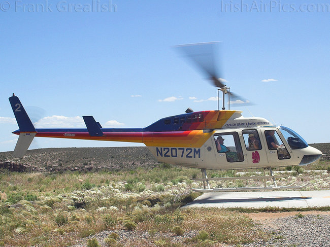 Bell 206L-1 Long Ranger III, N2072M, Papillon Grand Canyon Helicopters